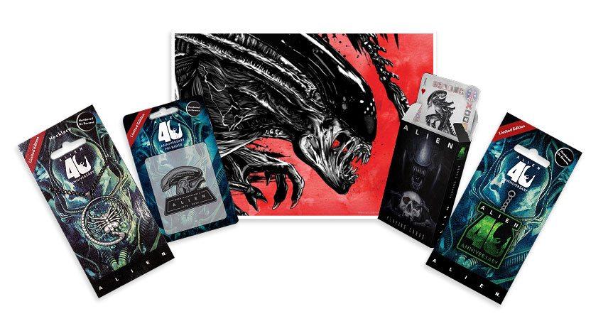 Coffret cadeau Alien 40ème anniversaire