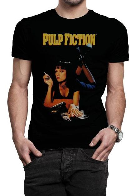 Tee shirt Pulp Fiction officiel Mia