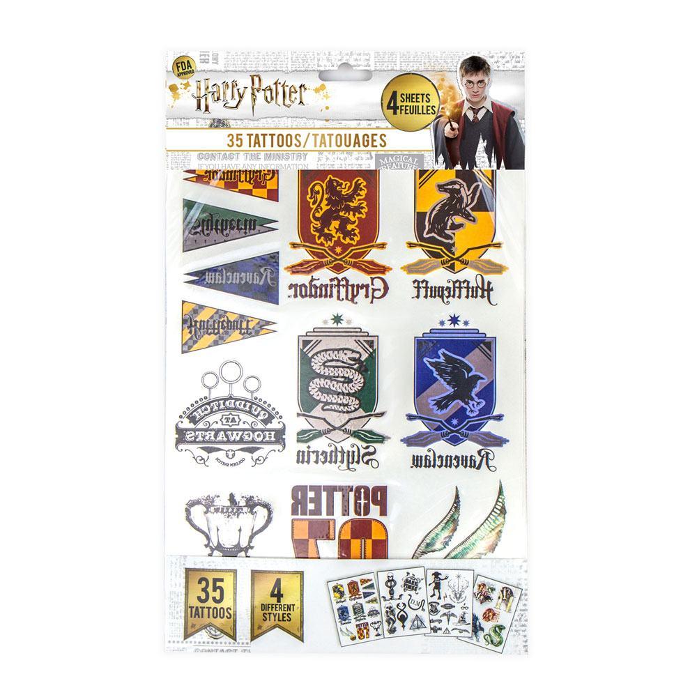 Harry Potter blister 35 tatouages officiels