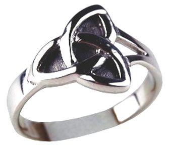 Bague Charmed symbole des 3 soeurs en argent