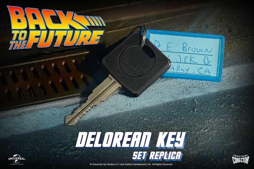 Retour vers le futur Réplique clé de la Delorean