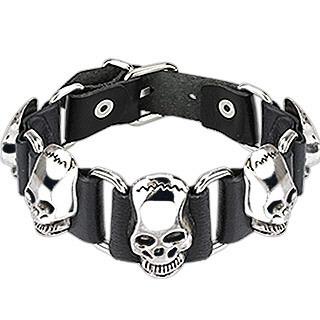 bracelet-biker-tetes-de-mort