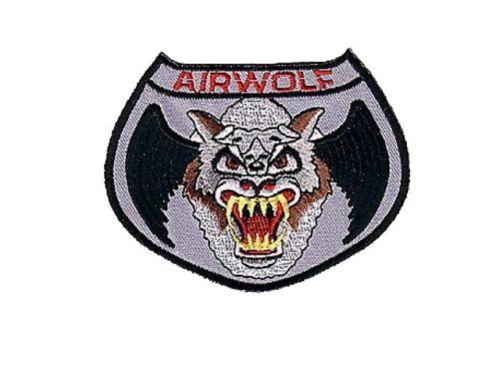 Ecusson Supercopter Airwolf de Stringfellow Hawke