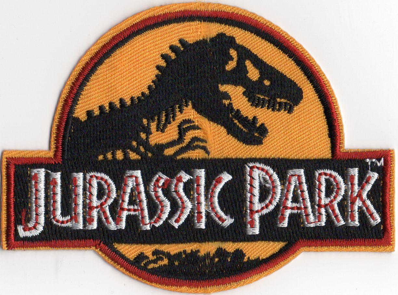 Ecusson brodé des employés du Jurassic Park