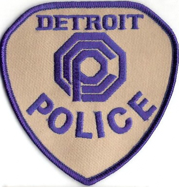 Ecusson police de detroit OCP vu dans Robocop