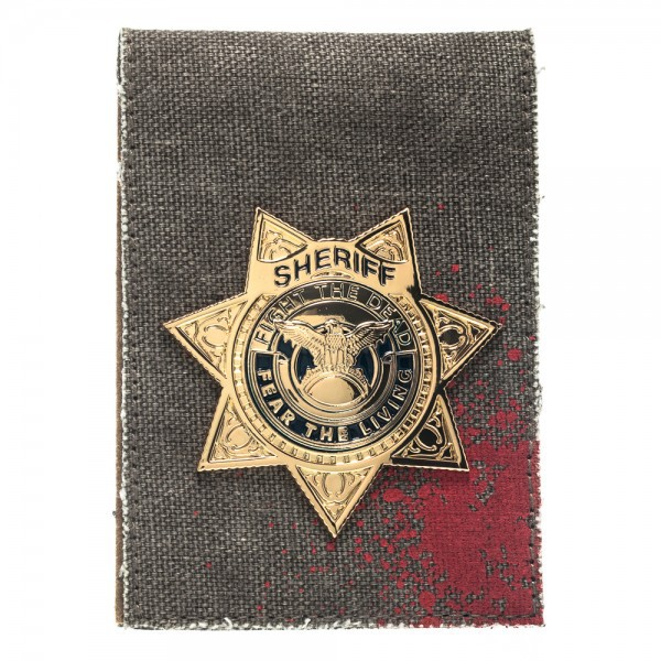 Portefeuille the walking dead Badge rick grimes