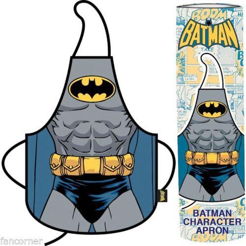 Tablier de cuisine officiel Batman avec boite