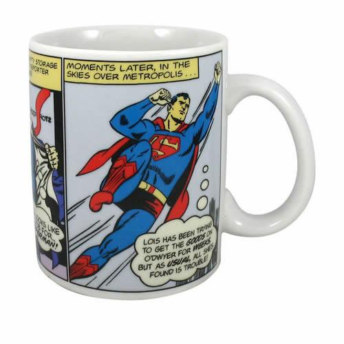 Tasse officielle Superman comics