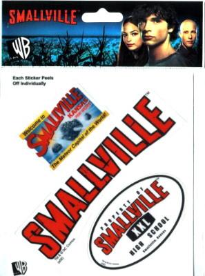 Blister autocollants officiels Smallville