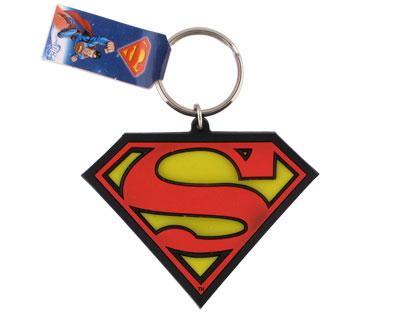 Porte cles logo Superman officiel