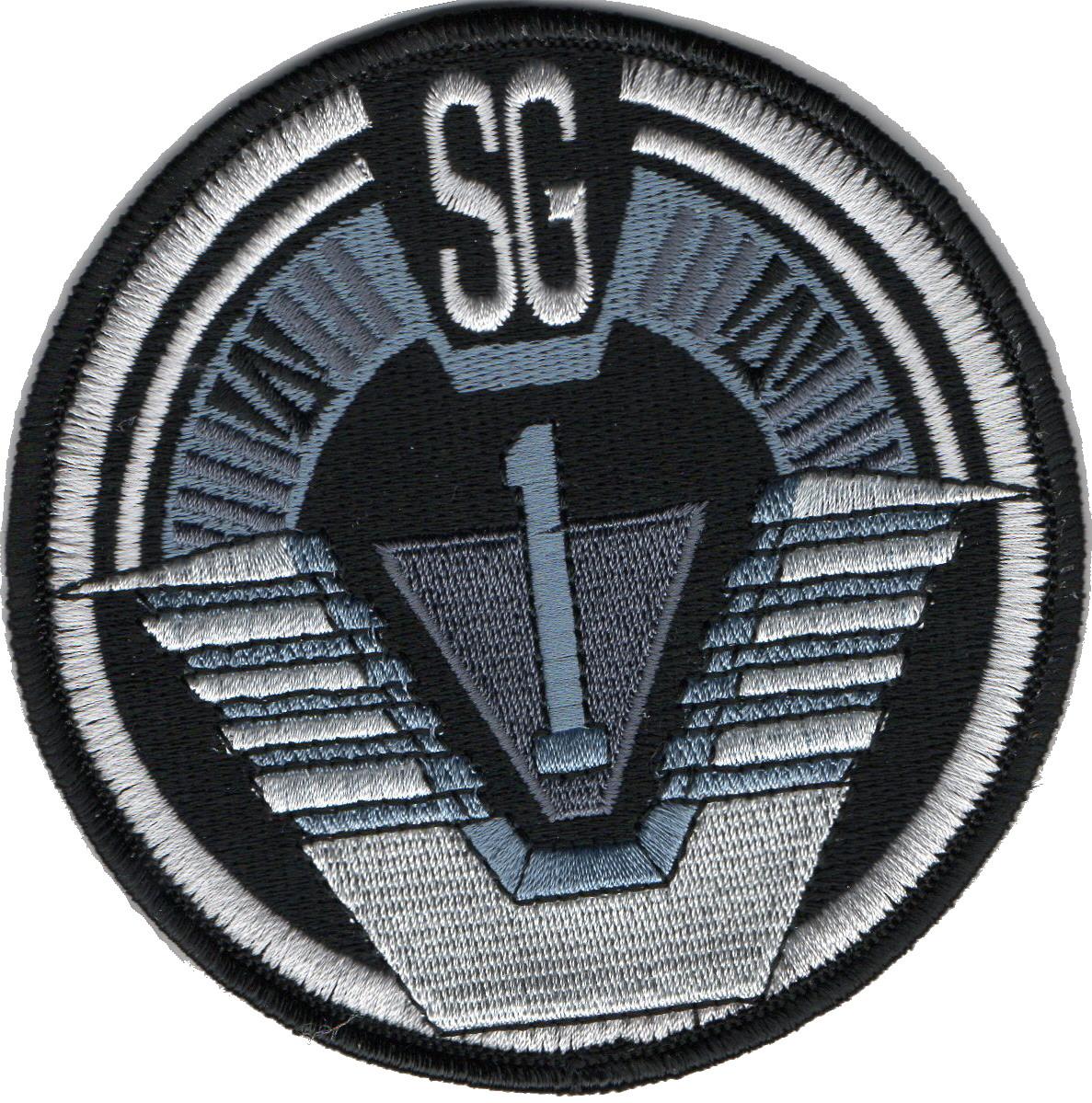 Stargate ecusson porté par l\'equipe SG1