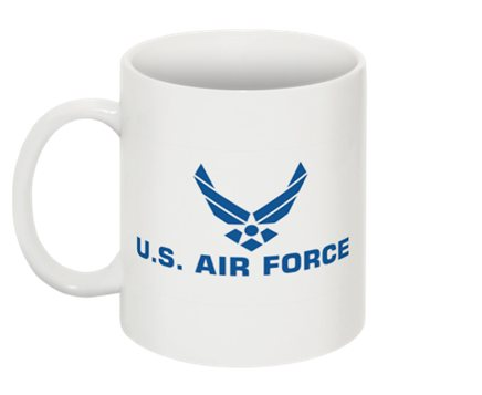 Tasse logo de l\'US Air Force USAF comme vu dans Stargate sg1