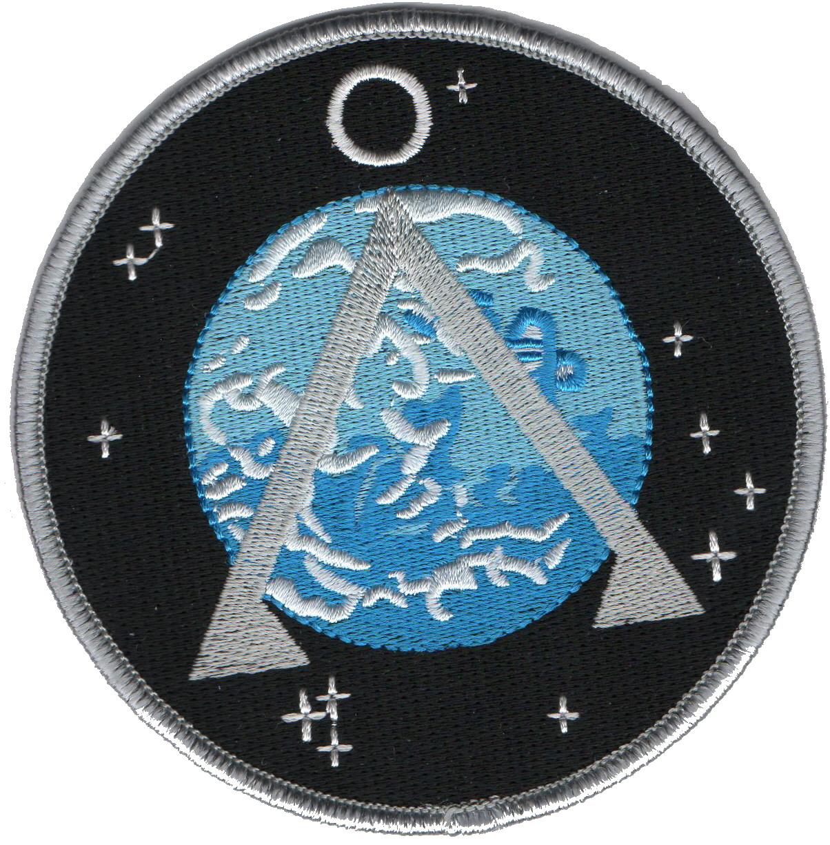 Ecusson symbole terre porté par l\'equipe SG1