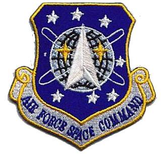 Stargate sg1 ecusson de L\'Air Force Space Command
