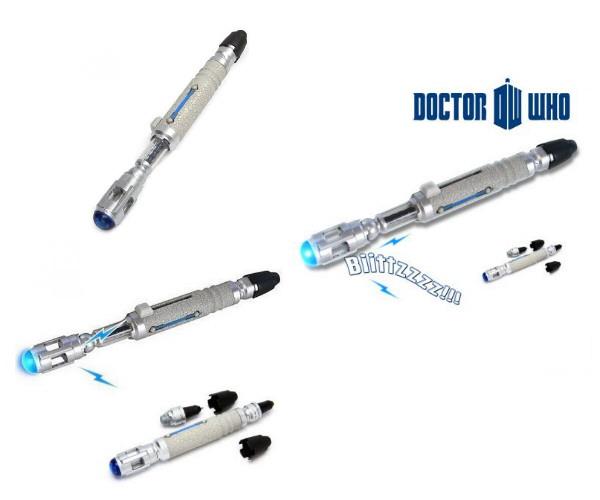 Réplique tournevis 10ème docteur de la série Doctor Who