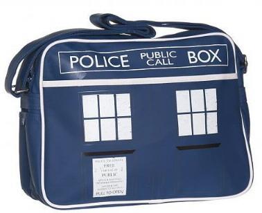 Sac à bandoulière Dr Who tardis police box