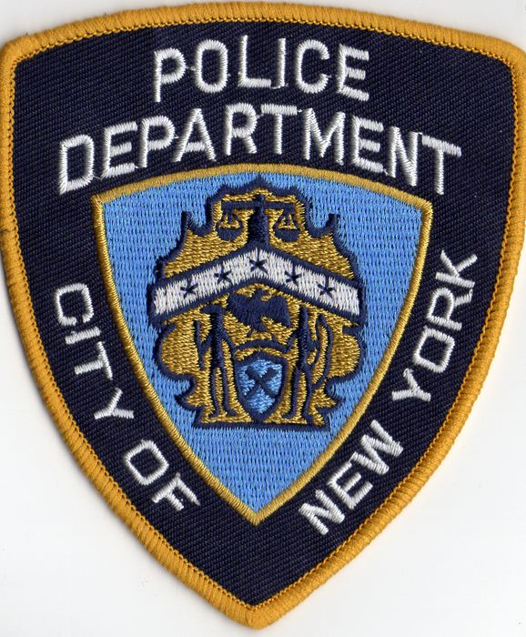 Lot de 2 ecussons de la police de New York