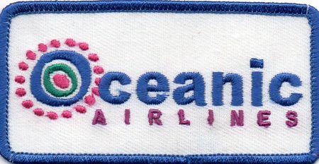 Ecusson de l\'équipage Oceanic airlines comme vu dans Lost