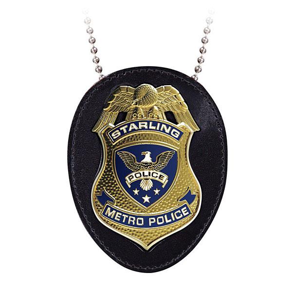 Réplique badge de police de Starling City vu dans la série Arrow