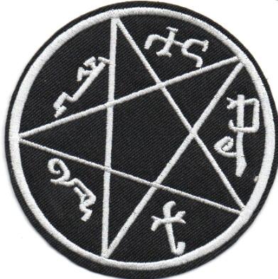 Ecusson symbole piège à demons vu dans Supernatural