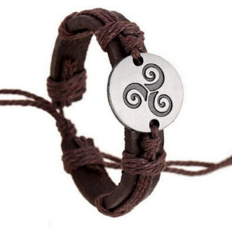 Bracelet Teen Wolf symbole triskel vu dans série