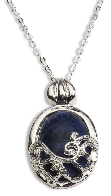 Collier Vampire Diaries lapis lazuli de protection