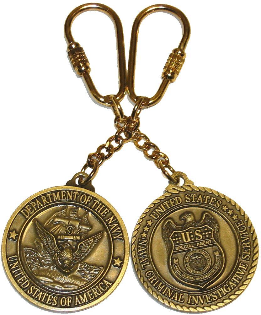 Porte cles officiel logo NCIS porte clés NCIS en métal