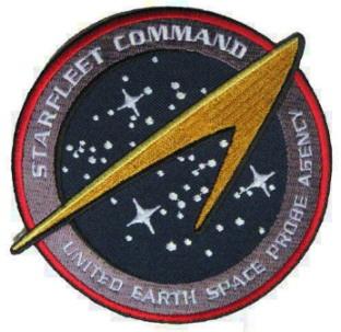Ecusson Star trek Starfleet Command UESPA