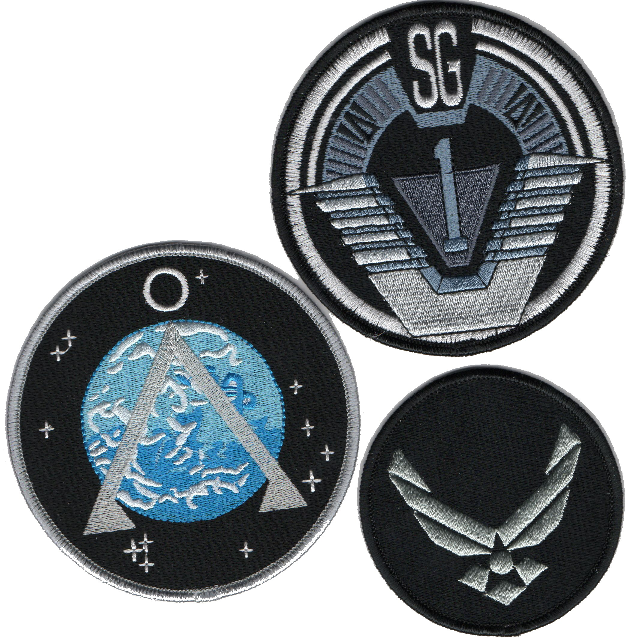 Stargate lot de 3 ecussons de l\'equipe SG1