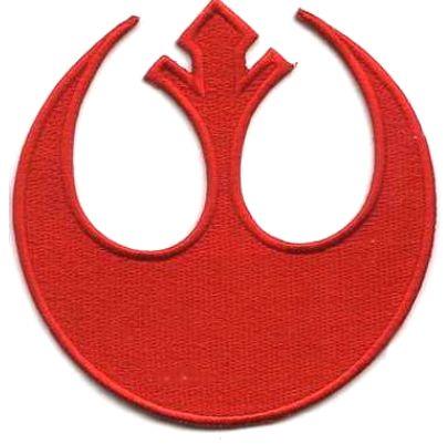 Ecusson Star Wars logo des forces rebelles