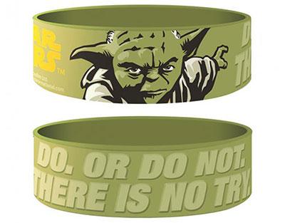 Bracelet Star Wars officiel Maitre Yoda en silicone