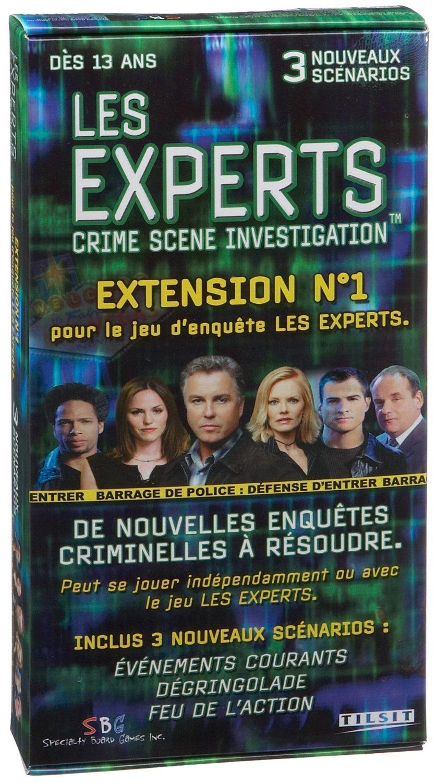 Jeu de société Les Experts extension n°1