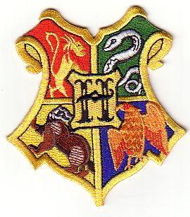 Blason des 4 écoles de Poudlard comme vu dans Harry Potter