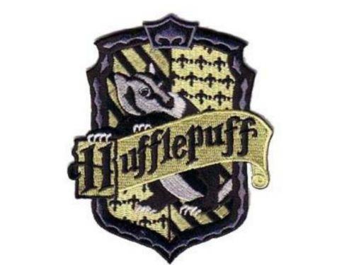 Ecusson de l\'école de Poufsouffle vu dans Harry Potter