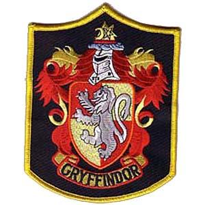 Ecusson de l\'equipe Quidditch de gryffondor vu dans Harry potter