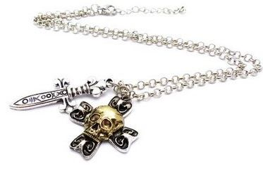 Collier Capitaine Crochet vu dans Once Upon a Time
