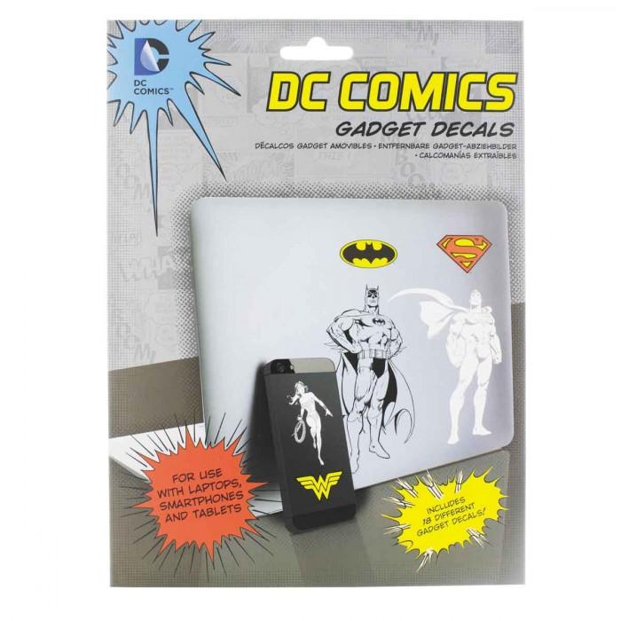 Lot de 18 stickers officiels Super héros DC Comics