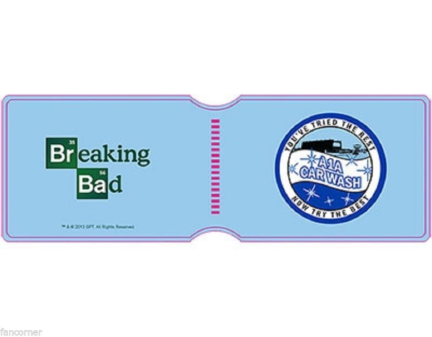 Porte cartes Breaking Bad modèle car wash officiel