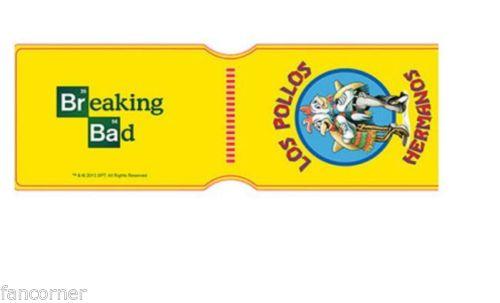 Porte cartes Breaking Bad modèle Los pollos hermanos officiel