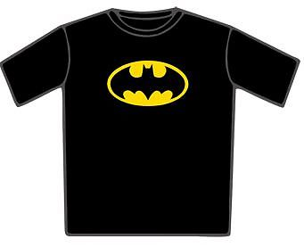 Tee Shirt officiel logo Batman classic