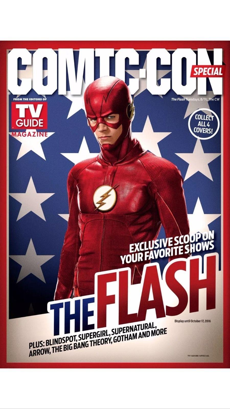 Comic con 2016 magazine Tv Guide special comic con The Flash