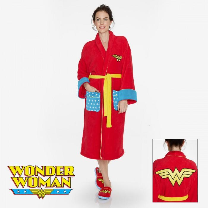Peignoir de bain Wonder Woman pour femme extraordinaire