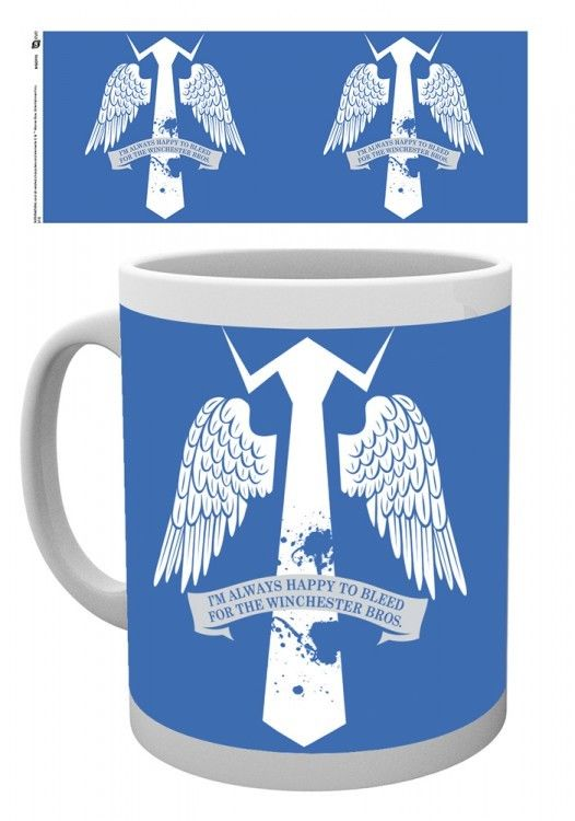 Tasse officielle Supernatural modèle ailes de castiel