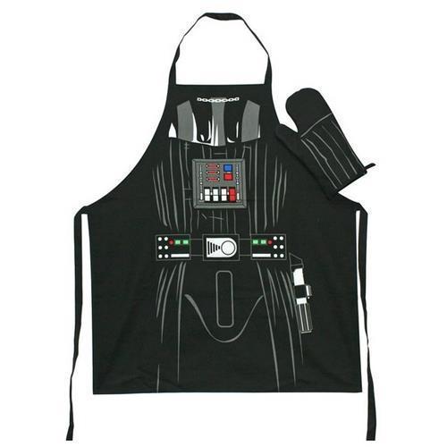 Star wars lot tablier et gant de cuisine Dark vador