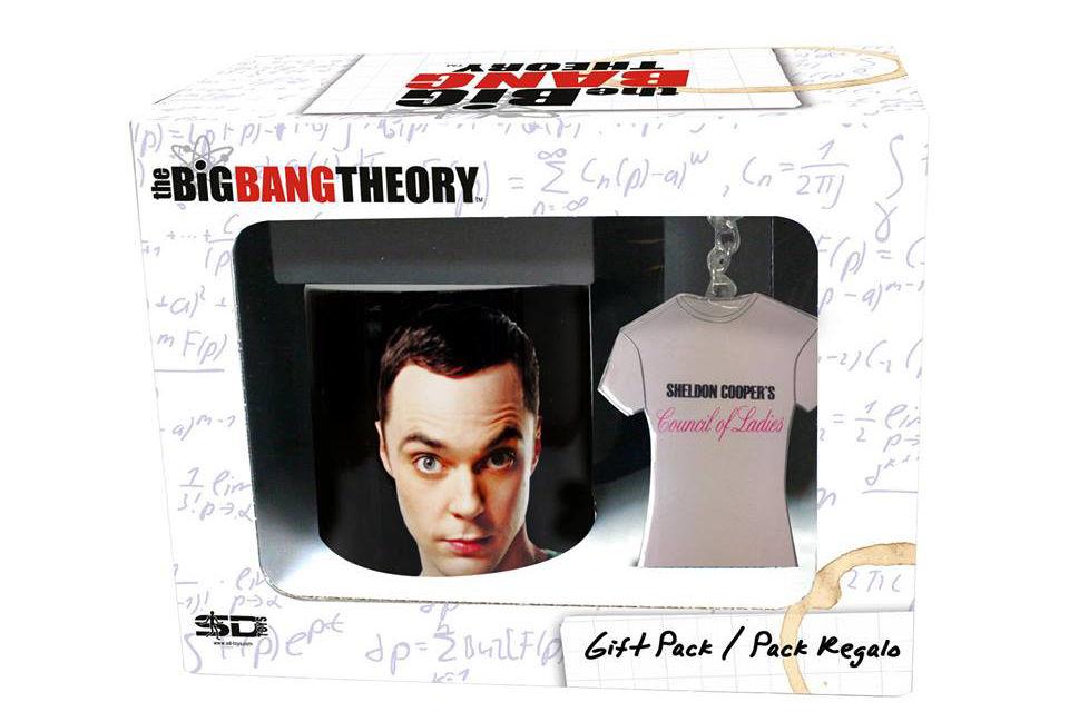 Lot tasse et porte cles the Big bang Theory motif Sheldon