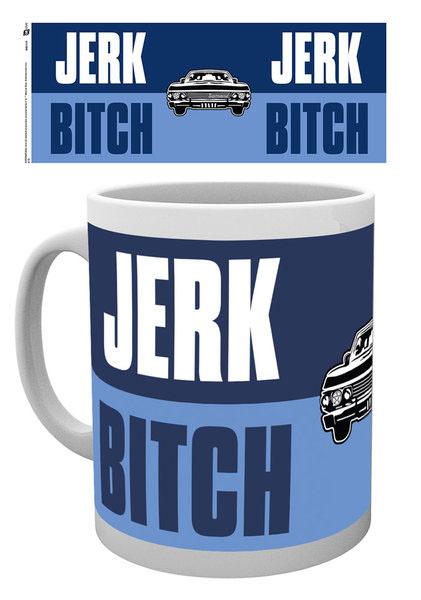 Tasse Supernatural officielle modèle Jerk Bitch