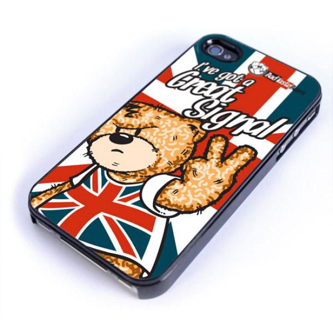 Coque iphone 4 et 4S Bad taste Bears modèle I\'ve got a great signal