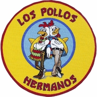 Tapis Breaking bad tapis officiel Los pollos hermanos 90x90cm