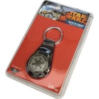 Porte clés officiel Star wars en métal symbole Empire galactique