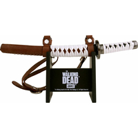 The walking dead coupe papier réplique katana de michonne katana